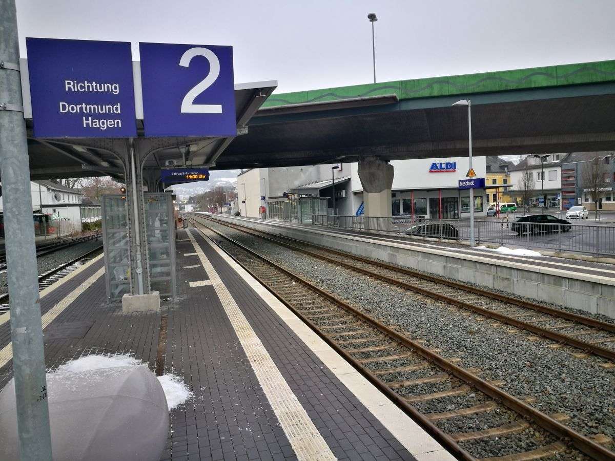 Symbolfoto - Bahnhof Meschede