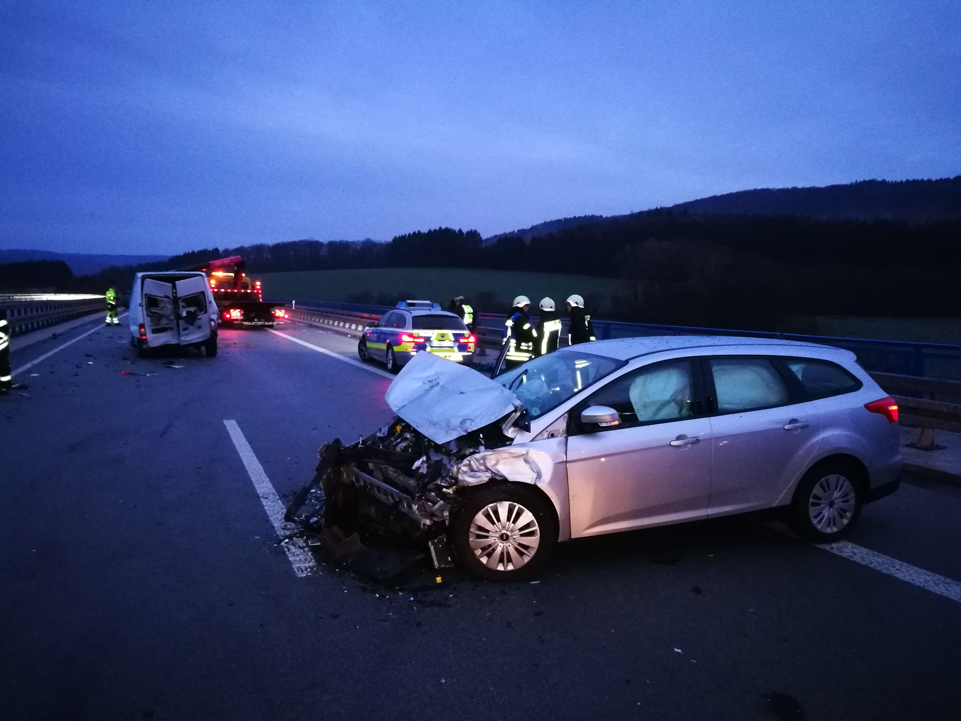 Verkehrsunfall BAB 46