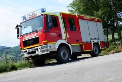 Das LF-10 mit Blick auf Grevenstein in 2019