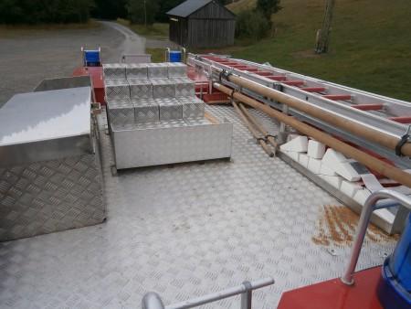 Beladung Dach