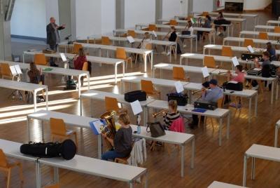 Ausreichend Platz in der St. Georg Schützenhalle