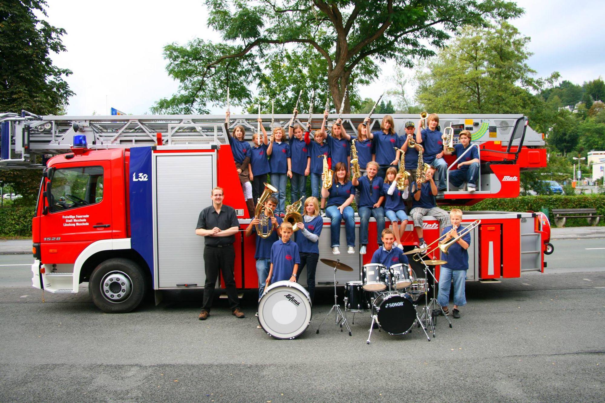 Nachwuchsorchester im Jahr 2005