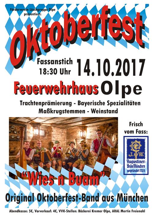 Oktoberfest Flyer 2017