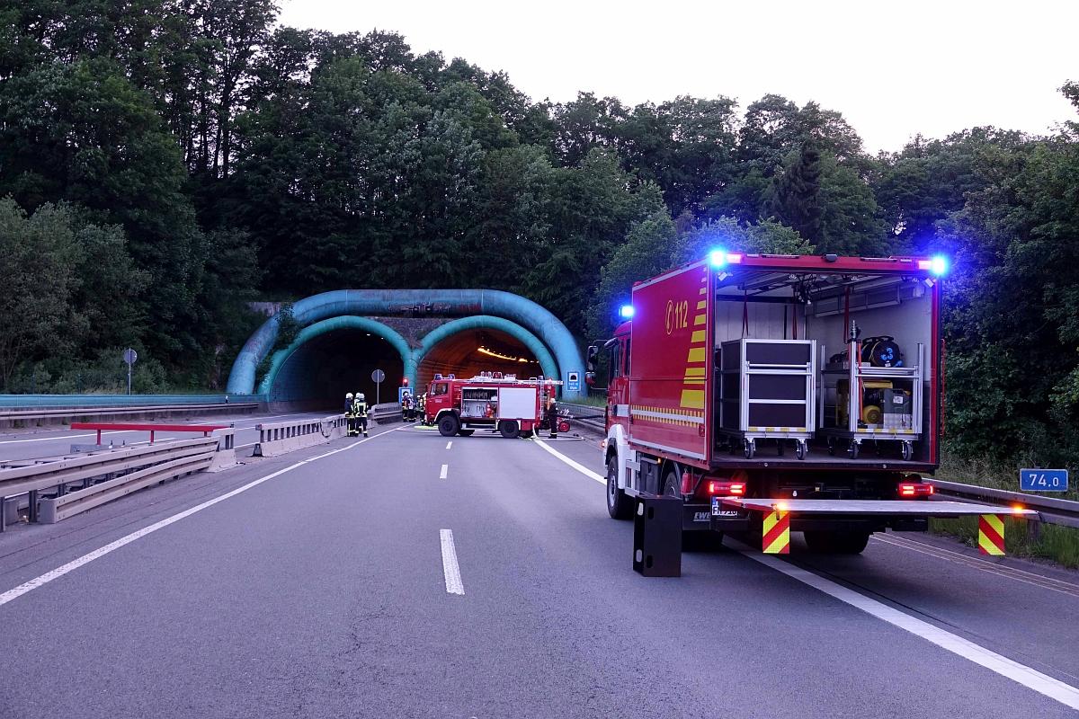 Der Gerätewagen-Logistik vom Löschzug Meschede