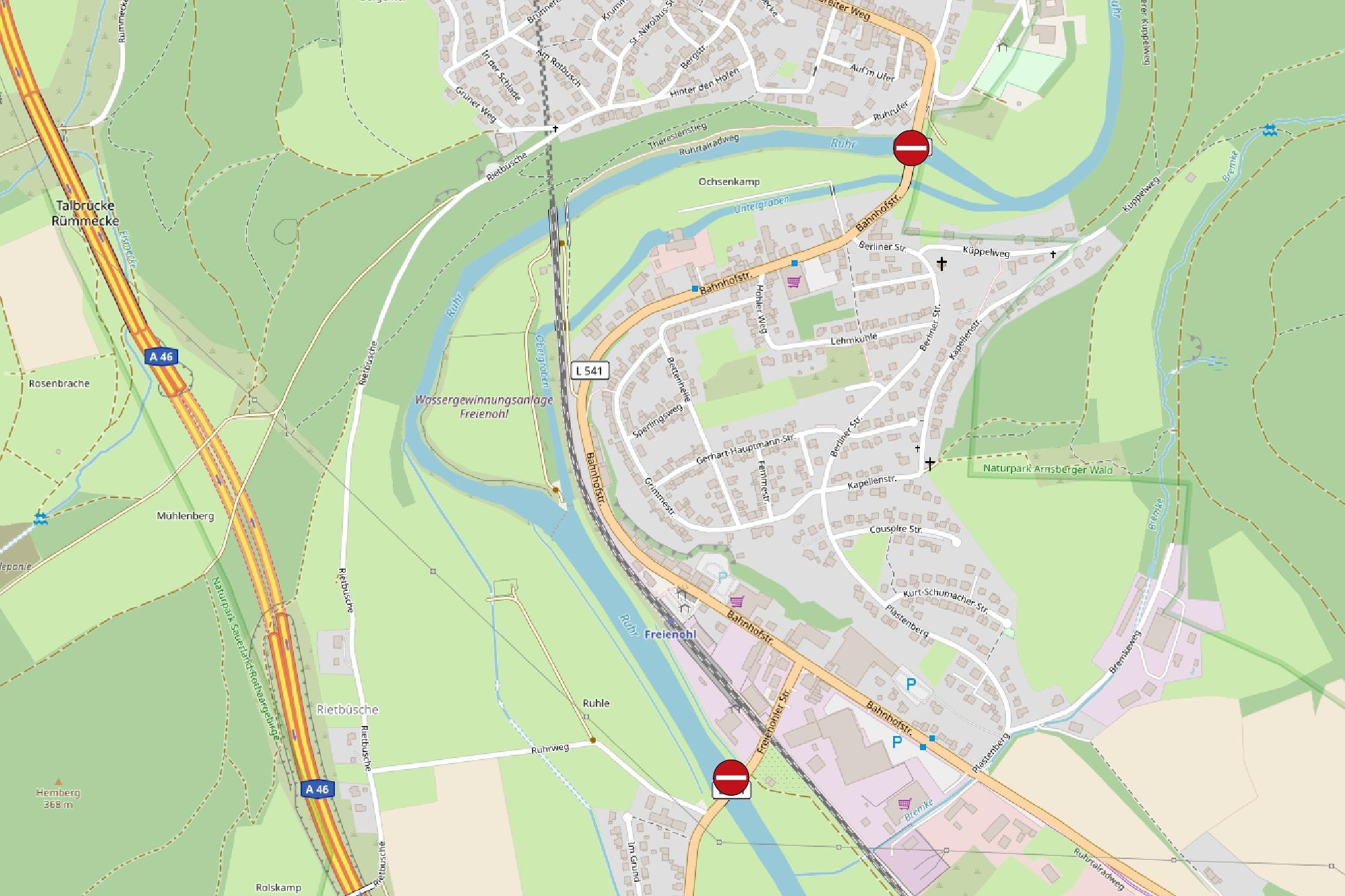 Karte - Quelle: OpenStreetMap