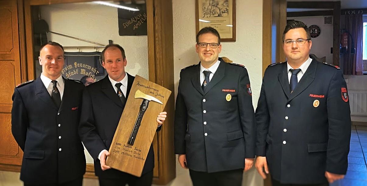 Matthias Friedrichs ist Feuerwehrmann des Jahres