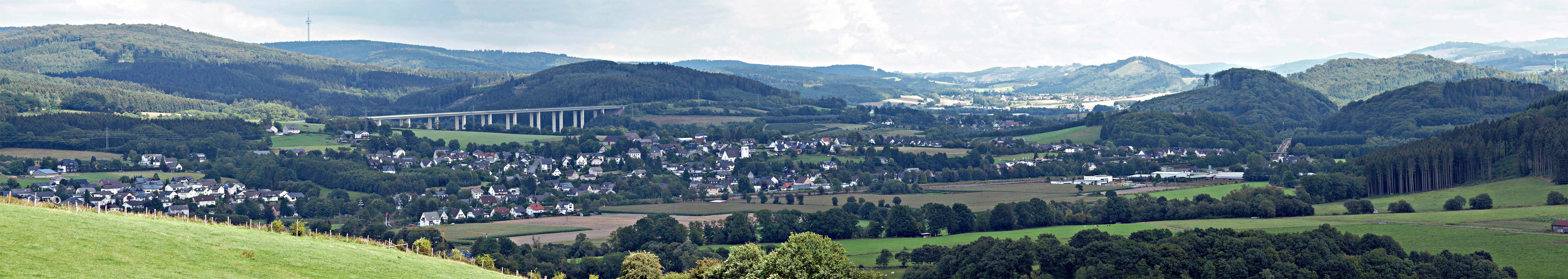 Panoramabild von Wennemen