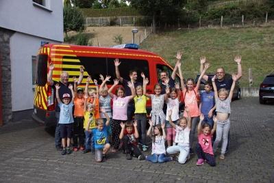 Ein spannender Ausflug in das Feuerwehrmuseum ging zu Ende